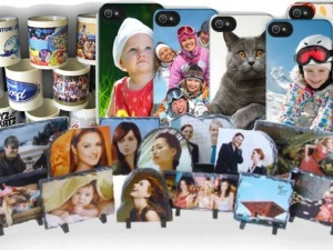 Heat wrapped personalised images for any occasion